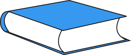 417x176 Best Closed Book Clipart