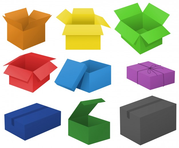 Closed Box Clipart