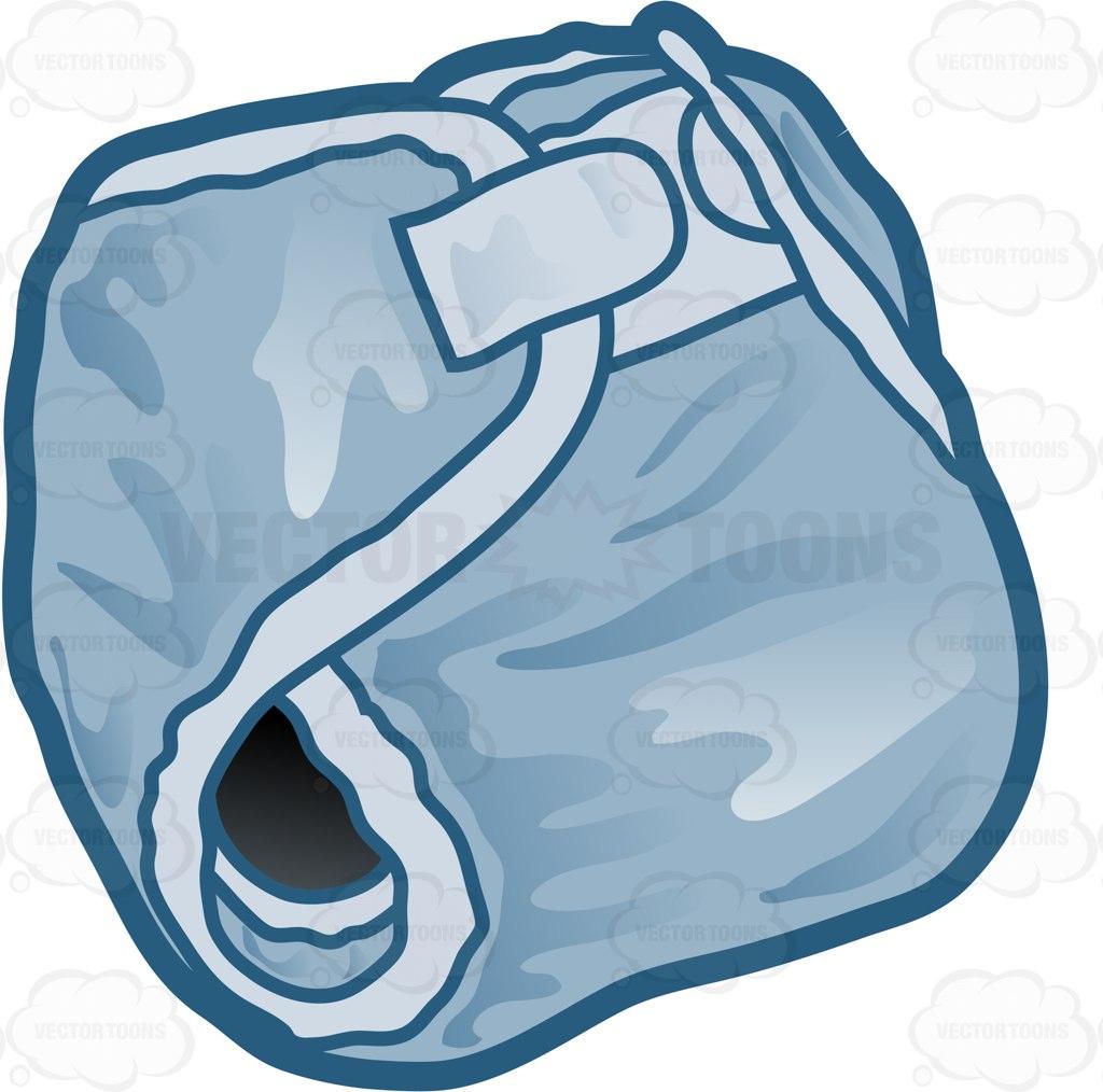 1024x1014 A Blue Cloth Diaper Cartoon Clipart
