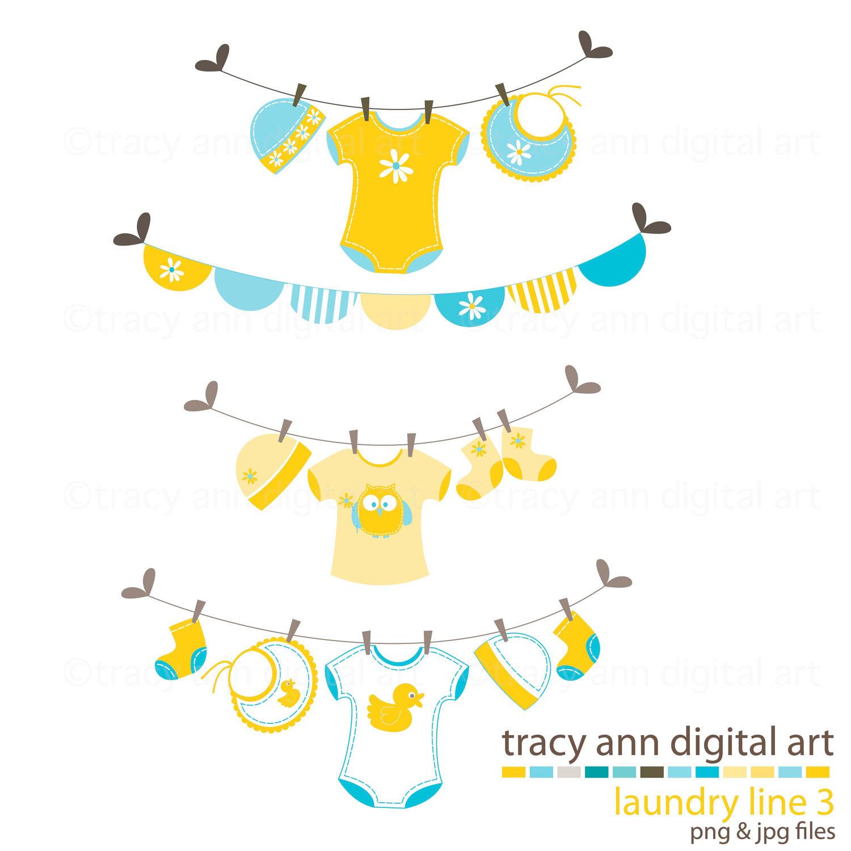 1500x1500 Baby Onesie Clothes Line Clip Art 34
