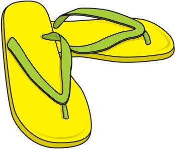 348x296 Clothing flip flops clip art clothes clipart image clipartix 2