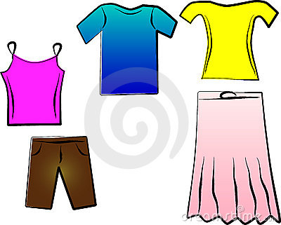 400x321 Summer Clothes Pictures Clip Art
