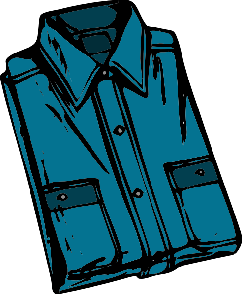 492x599 Clothing Shirt Clip Art