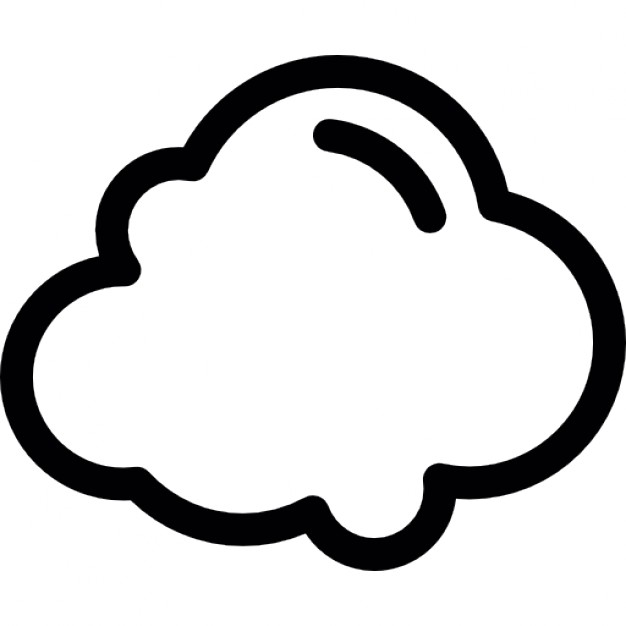 Cloud Outline | Free download best Cloud Outline on