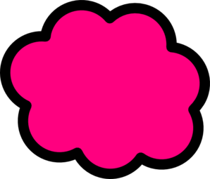 298x255 Clouds Clipart Colorful Cloud