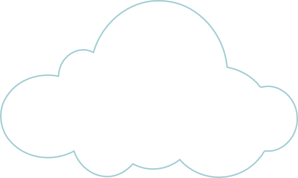 600x359 Cloud To Be Labelled Clip Art