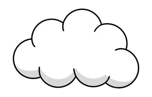 500x320 Fluffy White Clouds Clipart