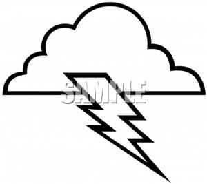 300x267 Storm Clipart Black And White