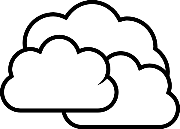 600x430 Weather Cloudy Clip Art