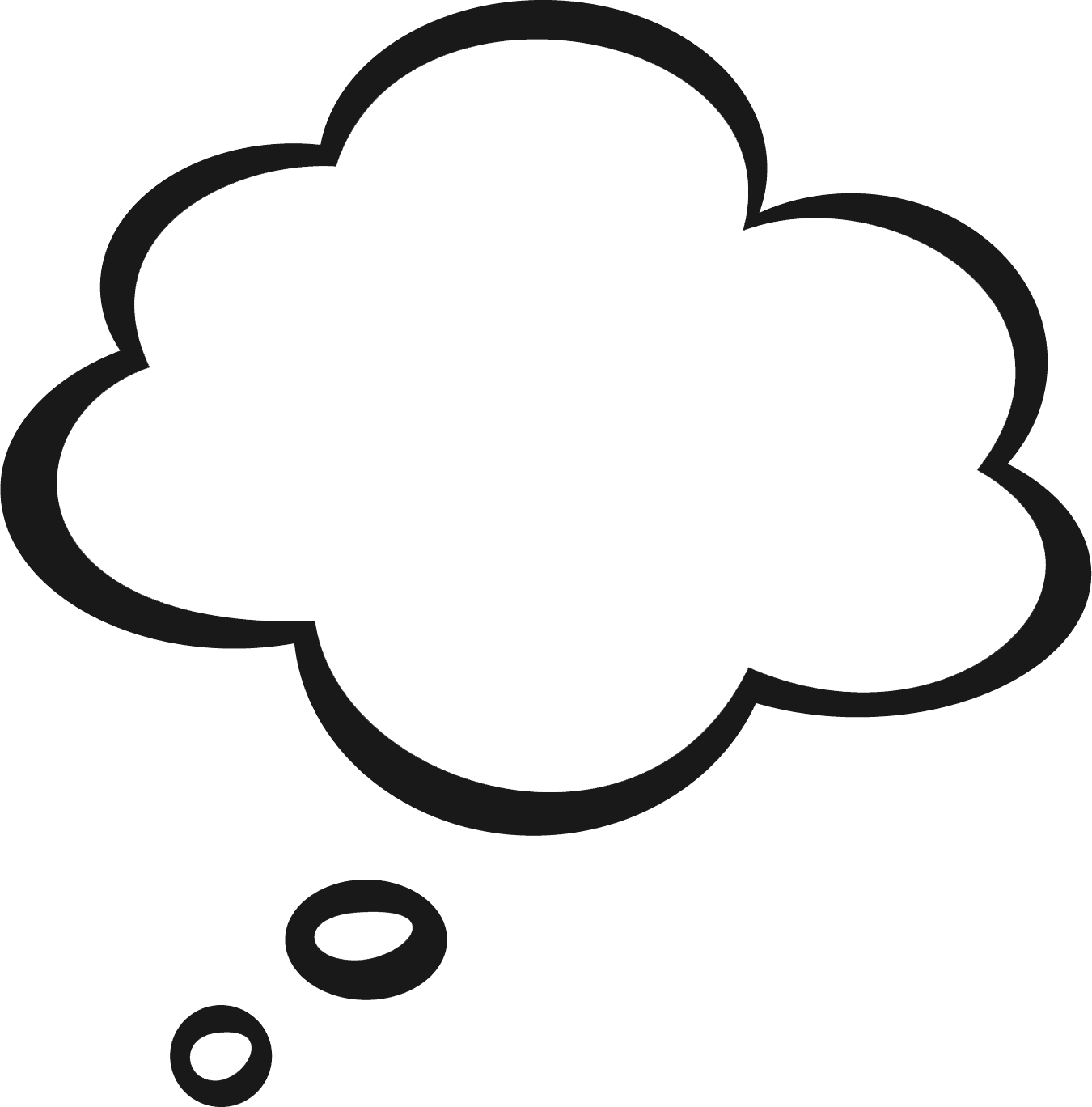 Clouds Clipart Black And White   Free download on ClipArtMag