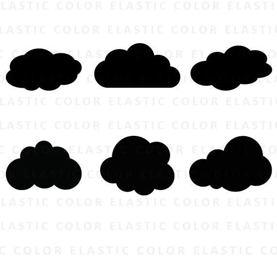 570x530 Cloud Svg Cloud Clipart Clouds Clip Art Cloud Silhouette