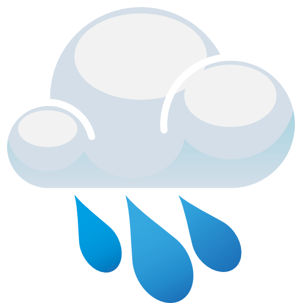 594x597 Free Rain Cloud Clipart Image 7 Clip Art