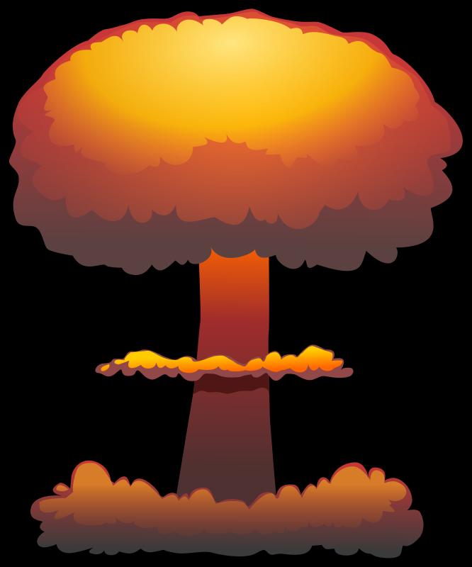 666x800 Mushroom Cloud Clipart