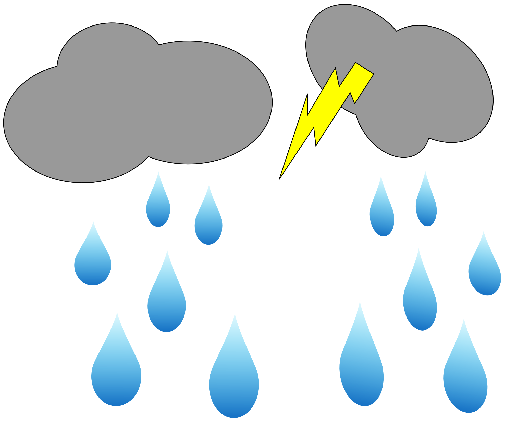 1979x1656 Best Rain Cloud Clipart