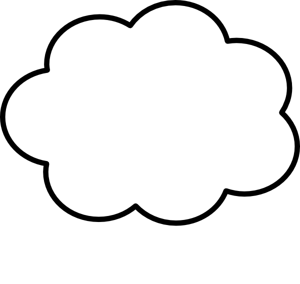 600x568 Steam Cloud Clipart