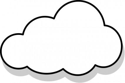425x283 White Cloud Clipart Png