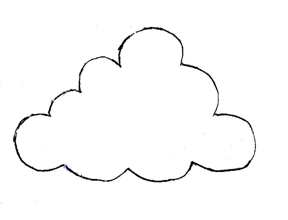 998x761 Clouds Clipart Printable