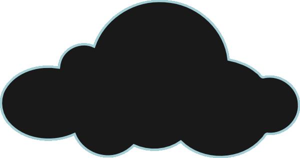 600x316 Dark Clouds Clip Art