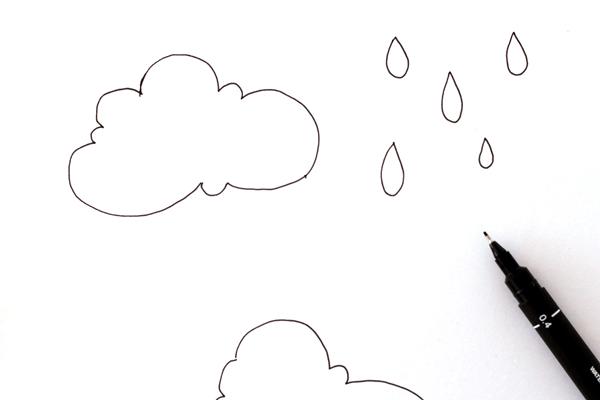 600x400 How To Make A Leather Rainy Cloud Key Chain