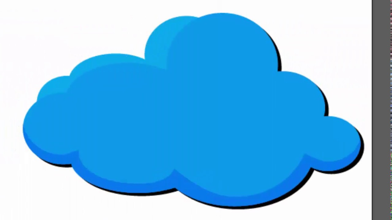 1280x720 Cloud Shape