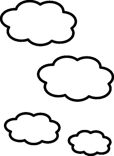 432x593 Clouds Clip Art