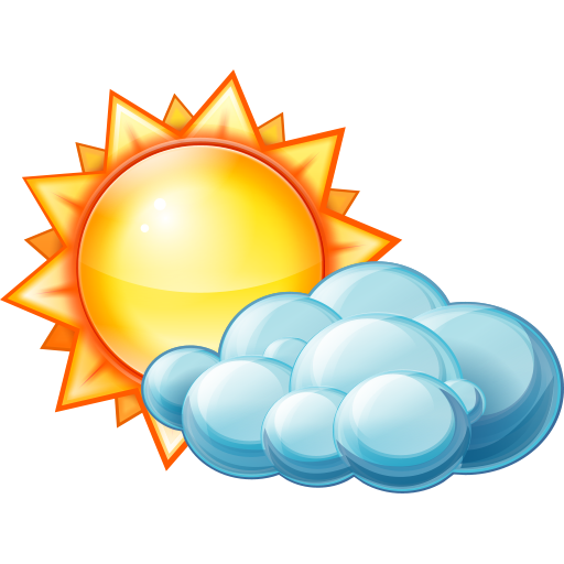 512x512 Partly Cloudy Day Icon Large Weather Iconset Aha Soft Team