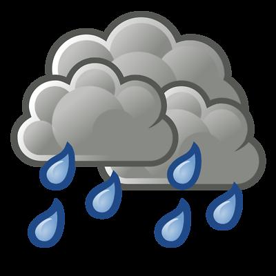 400x400 Rainy Weather Clipart