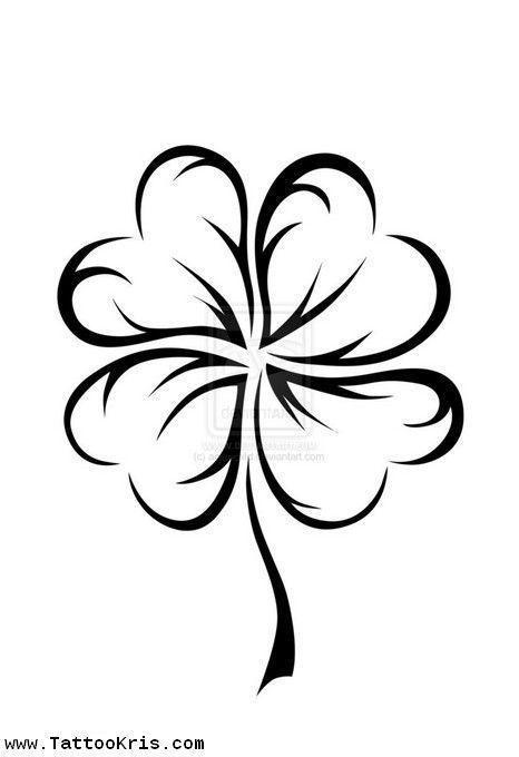 466x680 Best Four Leaf Tattoos Ideas Four Leaf Clover