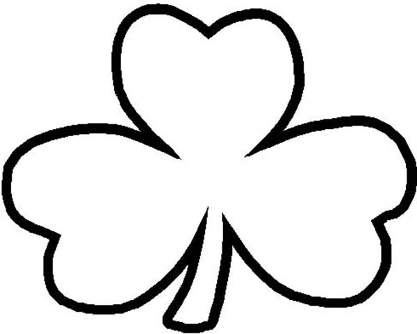 Clover Clipart Black And White Free Download Best Clover