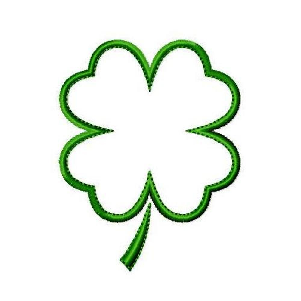 1000x1000 Clover Clipart Shamrock Outline