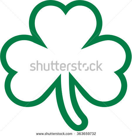 450x467 Clover Clipart Three