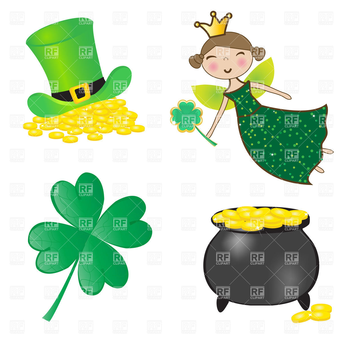 1200x1200 Clover St Patricks Clipart, Explore Pictures