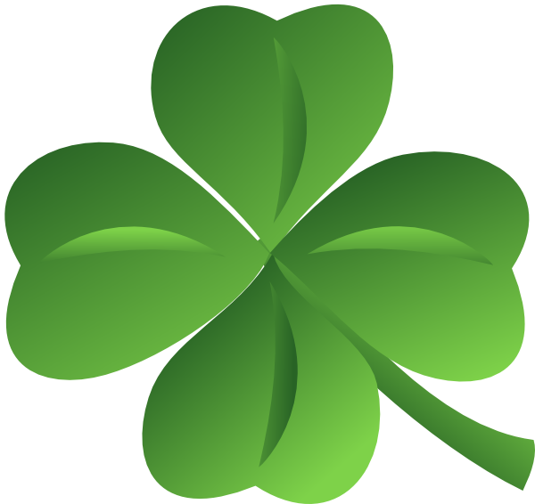 600x566 Four Leaf Clover Clip Art