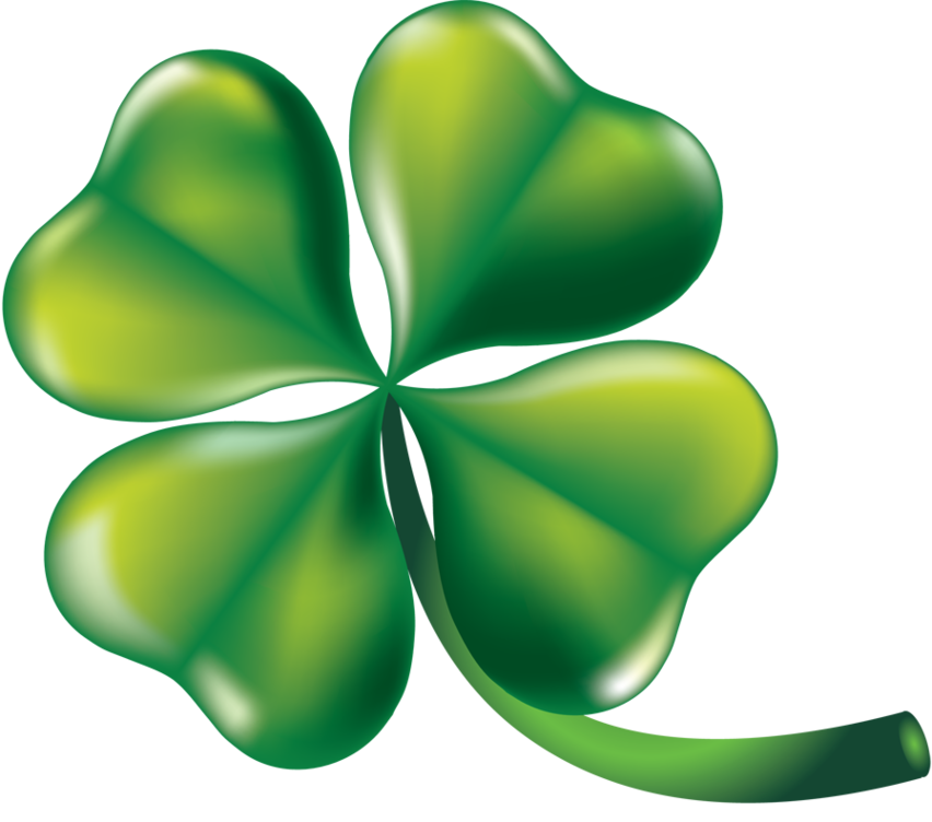 852x752 Startling Four Leaf Clover Clip Art Clipart Of Shamrocks
