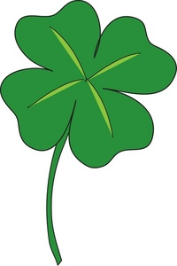 200x300 4 Leaf Clover Clip Art Many Interesting Cliparts