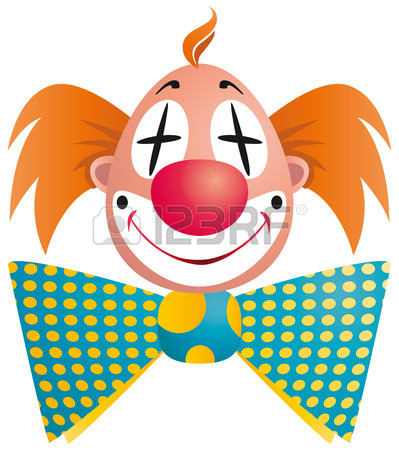 Clown Face Cartoon