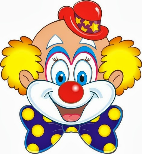 Clown Face Cartoon | Free download on ClipArtMag