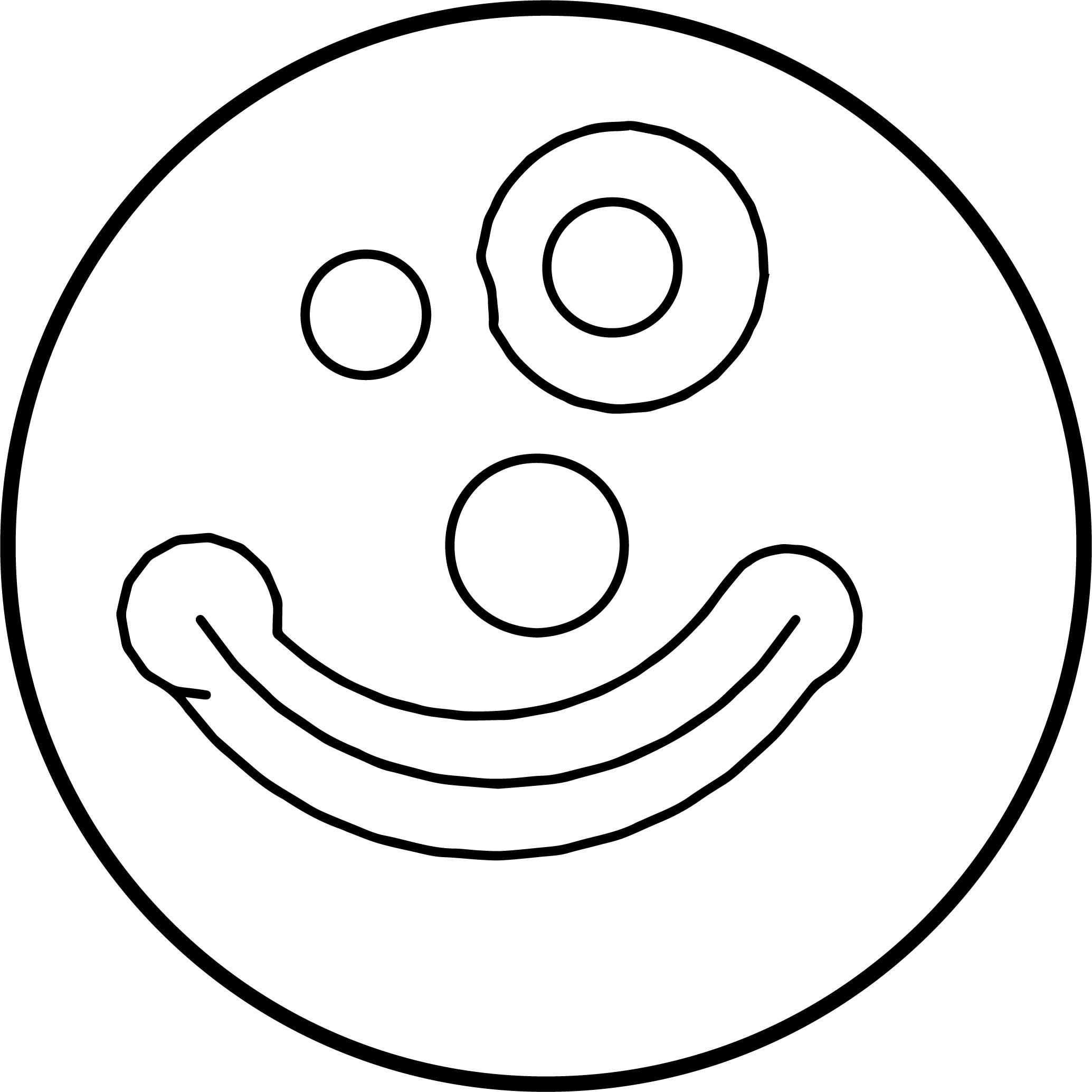 clown mouth coloring pages - photo#19