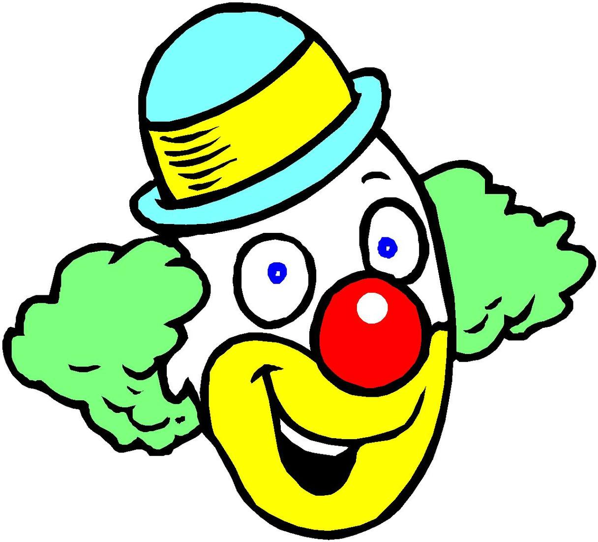 1216x1101 Clip Art Clown Clipart Free To Use Resource