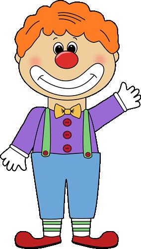 284x500 Clown Clip Art