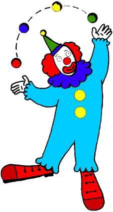 226x422 Clown Clip Art Clipart Panda