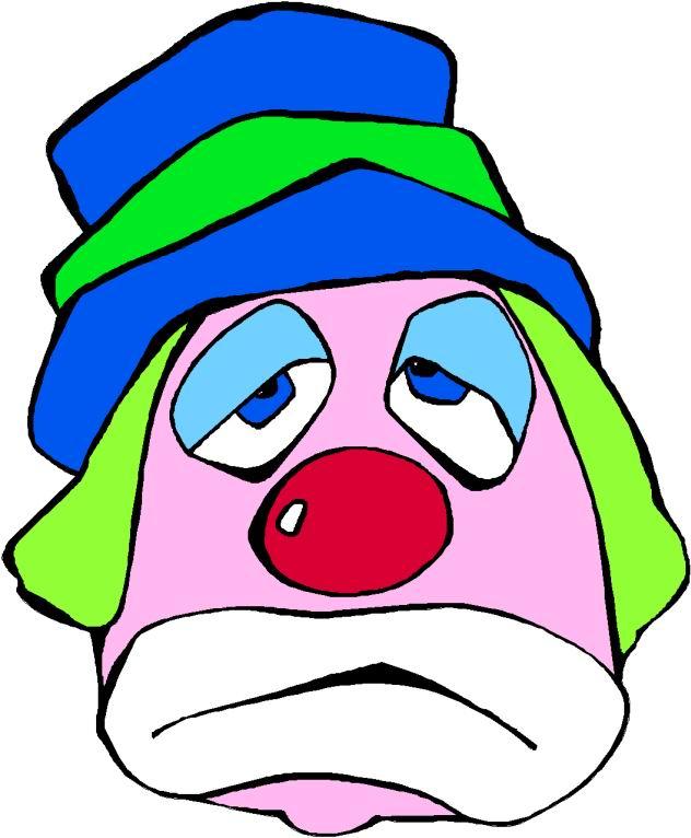 632x766 Clown Face Clipart