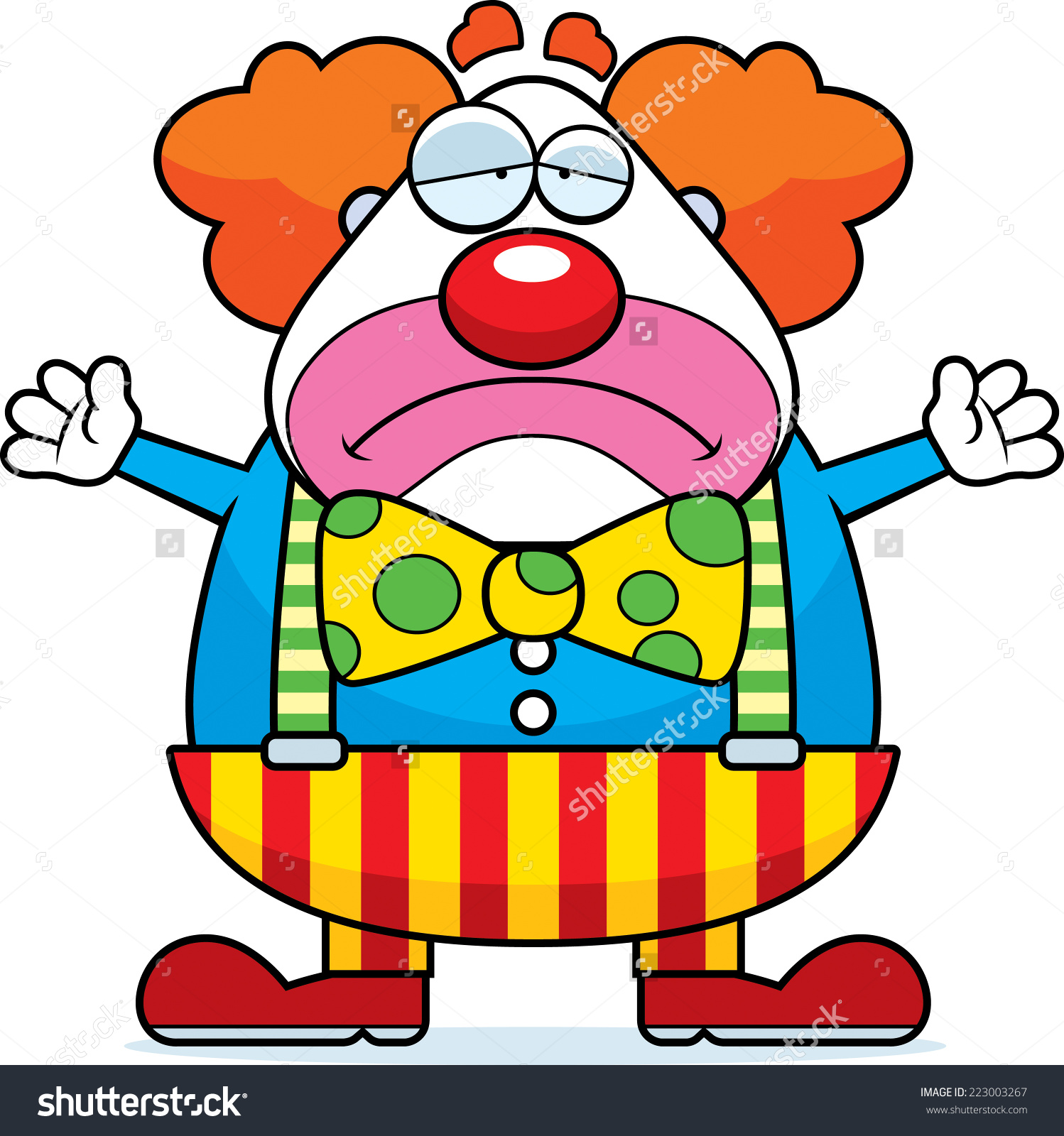 1498x1600 Crying Clown Clipart