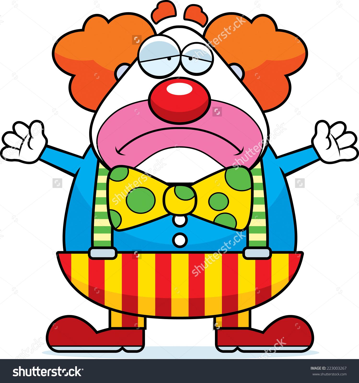 1498x1600 Crying Clown Clipart