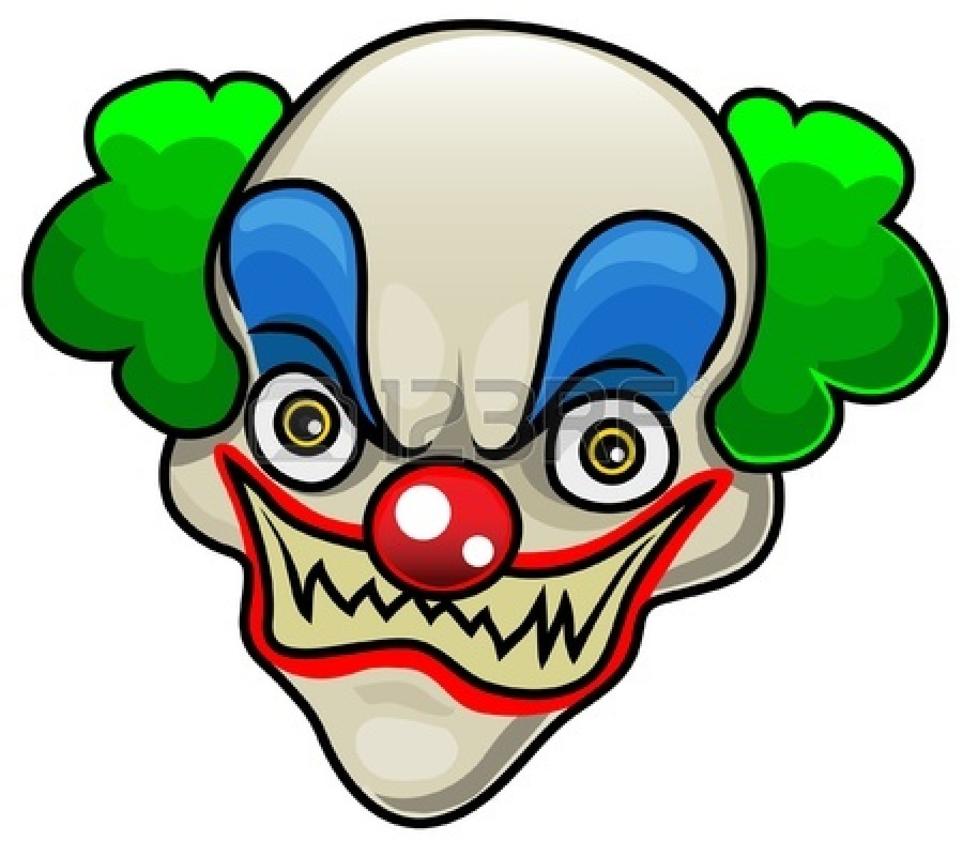 1350x1179 Scary Clown Clipart Many Interesting Cliparts