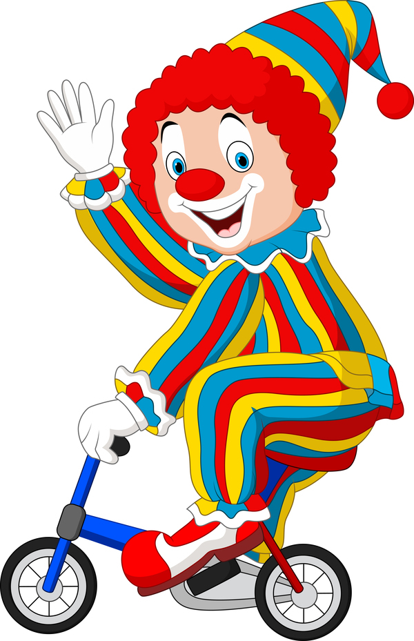 600x929 Clown Vector For Free Download