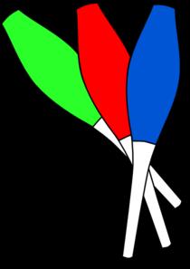 210x297 Clubs Juggling Clip Art