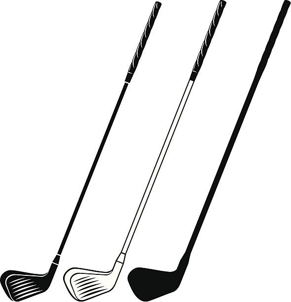 590x612 Vector Clipart Golf Club