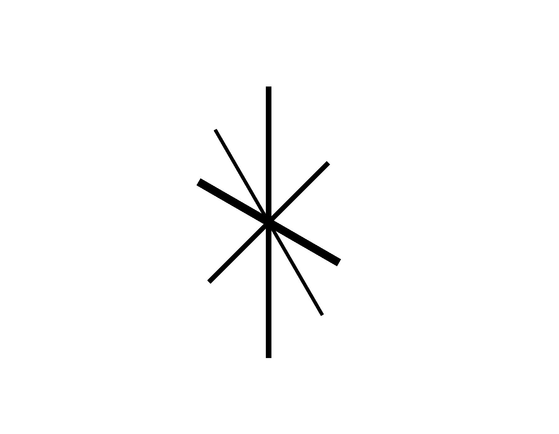 1800x1400 Retro Star Clipart