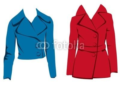 400x300 Coat Clipart Red Coat